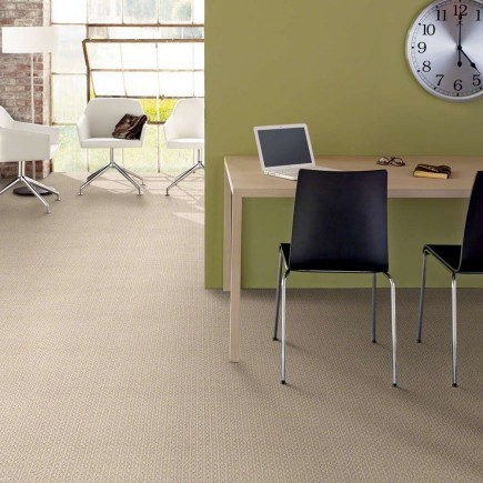 Restful Cream White Nylon Carpet