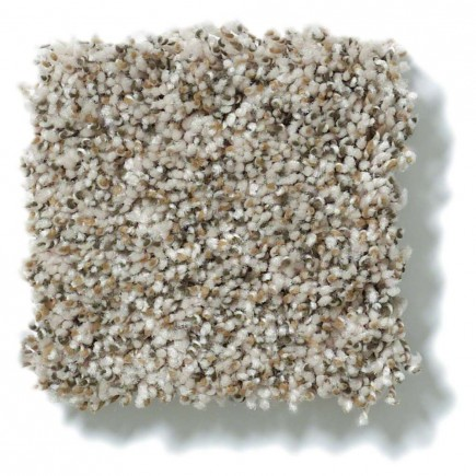 Power Buy 75 Cream Carpet, 100% PET Polyester