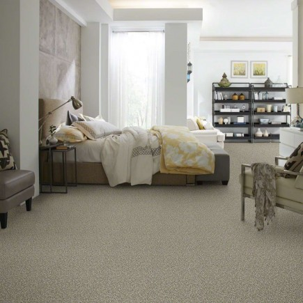 Power Buy 75 Parchment Carpet, 100% PET Polyester